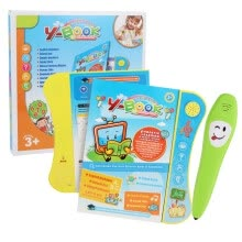 -Click-to -read Children's Early Education English Learning Machine New Smart Toy Audio e-Book Interactive Book Learning Book Toys on JD