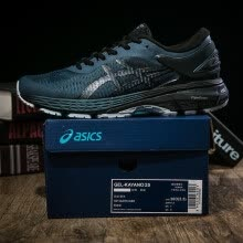 -Asics GEL-KAYANO 25 Dark green Balck 1011A019-021 Men Cushioned Running Shoes Asics Designer Sports Jogging Sneakers on JD