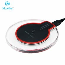-Mzxtby Qi Wireless Charger For iPhone X Xs Max Glass Fast Wirless Wireless Charging Pad For Samsung S10 S9 Xiaomi Mi 9 MIX 3 on JD