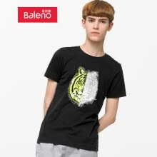 -Baleno T-shirt male 2019 spring and summer new multicolor animal print short-sleeved T-shirt shirt male 88902263 00A S on JD