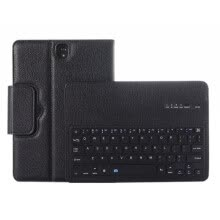 tablets-Premium Litchi Pattern Leather Foldable Bluetooth keyboard Holster Cover For Samsung Galaxy Tab S3 9.7 inch T820 825 Case Cover on JD