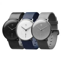 -Xiaomi Mijia Quartz Smartwatch 3ATM Water Resistant Pedometer Stainless Steel Case Intelligent Vibration Waterproof Watch Gift on JD