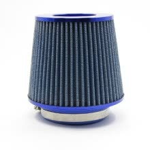 -Universal Auto Car Air Filter Cold Air Intake 3inch 76-88-100mm Round Tapered Car Modification on JD
