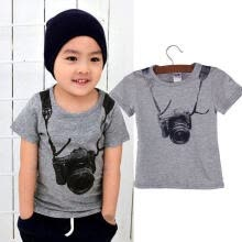 -1pcs Baby Boys T-Shirts Tops Sets Sportwear Outfits Kids Blouse Summer Clothes on JD