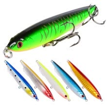 VISSEN 1pcs 9.3cm 13.5g Pencil StickBait Fishing Lure Artificial Hard Lure Plastic Bait Trolling Pike Carp Fishing Tools Minnows