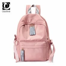 38742d7126f2 Waterproof Oxford School Backpack for Teenager Girl Cute Bow Backpacks Women  USB Charger Laptop Bagpack Female Pink Back Pack