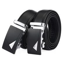 belts-Men's Genuine Leather Belt High Quality New Designer Belts Men Luxury Strap Male Waistband Fashion Vintage Buckle Belt for Jeans on JD