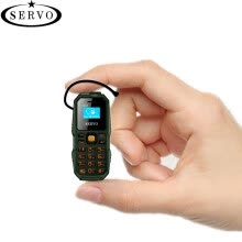 -Original Phone SERVO S07 Smallest Mini Cellphone Wireless Bluetooth Earphone Ultra Low Radiation Bluetooth Dialer Dual SIM Phone on JD