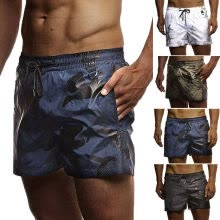 -Men's Beach Board Swimwear Swim Trunks Surf Quick Dry Stretch Shorts Surf Pants on JD