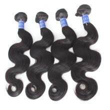 -Best Quality Unprocessed Virgin Peruvian Hair Body Wave Hair Bundles For Sale 4 pcs/lot on JD