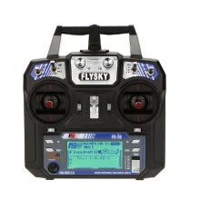 -Flysky FS-i6 AFHDS 2A 2.4GHz 6CH Radio System Transmitter for RC Helicopter Glider with FS-iA6 Receiver Mode 2 on JD