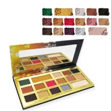 -Women 16 Colors Eyeshadow Palette Glitter Long Lasting Shimmers Non-smudge Makeup on JD