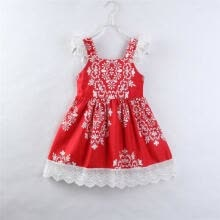-Easter Princess Girl Dress Lace Floral Party Dress Pageant Dresses Kids Clothes on JD