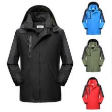 -Stylish Men Women Warm Hoodie Windbreaker Waterproof Jacket Outdoor Coat on JD