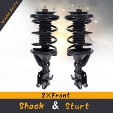 suspension-system-Ktaxon Pair 2 Front Quick Complete Struts Coil Springs Assembly For 01-05 Honda Civic on JD