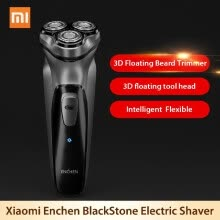 holiday-seasonal-decor-Xiaomi Youpin 3D Electric Shaver Enchen BlackStone Electric Razor Washable Beard Trimmer for men Rechargeable shaver Machine on JD