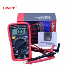 voltmeter-UNI-T UT33A+ UT33B+ UT33C+ UT33D+ Palm Size Digital Multimeters Electrical Handheld Ammeter Multitester With Backlight Data Hold on JD