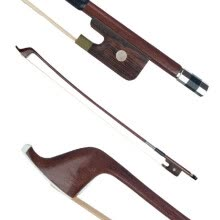 -French Style Bows for Size 4/4 Double Bass Brazilwood Bow Horsehair Bow Hair Great Balance Point Orchestral Strings Accessories on JD