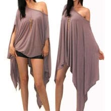 a084151975 Women´s Loose Baggy Tunic Batwing Sleeve Tops T-Shirt Blouse Plus size New  Fashion