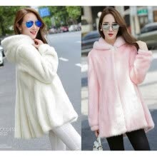 ad220d62870d New women's fashion fur jacket Faux fur winter warm long jacket