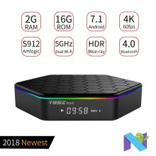 tv-boxes-T95Z plus Android BOX 7.1 TV Box 2G 16G WIFI -Amlogic S912 4K WITH REMOTE on JD