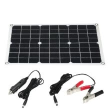 -10W 12V Flexible Solar Panel Battery Dual Output Solar Power Energy With USB Interface High Conversion Rate Solar Panel System on JD