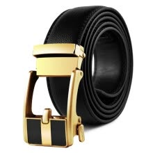 -New Brand designer mens belts luxury fashion real leather belts for men metal buckle Men Top Quality Automatic Buckle blackBelts on JD