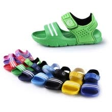 -1 Pair Casual Children Kids Shoes Baby Boy Closed Toe Summer Beach Sandals Flat on JD