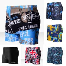 b065a9a706 SUNSIOM Mens Boxer Briefs Swimming Swim Shorts Trunks Swimwear Beach Pants  Underwear New