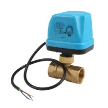 -12V Electric Motorized Thread Ball Valve Air-conditioning Water System Controller 2-way 3-wire on JD