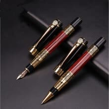 6d96dded367d New Fashion Brand Fountain Pen Luxury Business Executive Writing Ink Pen  Stationery · pens-Hero 382 ...