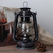 -Greensen 24cm Classic Kerosene Lamp Vintage Kerosene Lantern Oil Lamp Portable Outdoor Camping Lights on JD