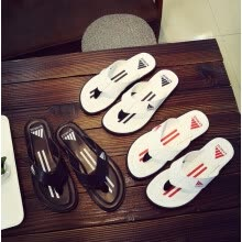 -2019 Korean version of the new summer men's flip-flops non-slip outdoor beach slippers flip-flops on JD