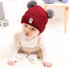 f3a4c7b11c2 Lovely Children s Knitted Wool Hat Cute Warm-Keeping Baby Bonnet Girls Boys  Winter Soft Comfortable Beanie Cap