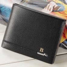 -Tailored Mens Fashion Leather ID Card Holder Billfold Purse Wallet Handbag on JD