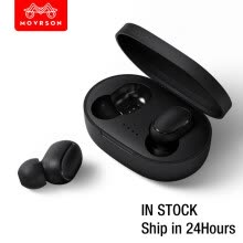 -A6S Bluetooth Headsets For Xiaomi Wireless Earbuds 5.0 TWS Earphone Noise Cancelling Mic for Redmi Airdots iPhone Huawei Samsung on JD