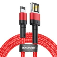 -Baseus Special Reversible 8 Pin USB Cable for iphone XS XR  XS Max X 8 7 6 Fast charging and  Data Transfer on JD