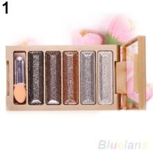 -5 Colors Shining Natural Eye Shadow Palette Cosmetic Makeup Beauty Tool Gift on JD