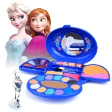 -Disney Girl Toys Children's Makeup Box Cosmetics Toys Kids Lipstick Nail Polish Set Disney Ice Romance Fairy Tale World Princess Portable Makeup Box on JD