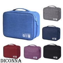 -Electronics Accessories Organizer Travel Storage Hand Bag Cable USB Drive Case on JD