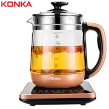 -Konka (KONKA) health pot glass thickening non-stick coating electric kettle kettle 1.8L multi-function electric kettle flower teapot boil teapot tea maker KHK-1868 on JD