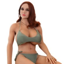 -Adult Sex Doll 168cm/Silicone non-Inflatable Doll Full Silicone Sex Dolls for Men Realistic Vagina on JD