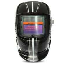 -Track and Car Model Design Automatic Variable Light Electric Welding Protective Mask on JD