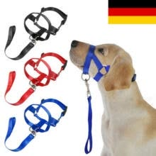 tie-clips-cufflinks-Hund Haustier Halsband Gentle Halter Leash Leader No Pull Strap für Training Dog on JD