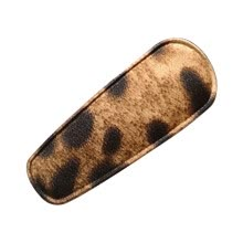 -Vintage Leopard Print Hair Clips Cloth Fabricsbig Hairpin Hair Accessories on JD