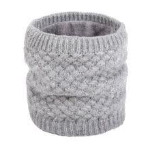a8e9c3689 Unisex Winter Men Women Faux Fur Scarf Fleece Thicken Neckerchief Knit Neck  Warmer Circle Loop Scarves