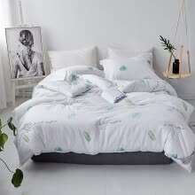 -Simple atmosphere 1.8m bed sheet  three 4 piece set bedding on JD