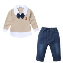 -Summer Kids Boys Clothes Shirt Denim Pant 2PCS Clothes Set Casual Tops High Quality Pants Set for Boy Clothing Set on JD