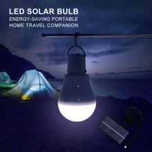 298D Inflatable Solar Light Garden Camping Tent LED Lantern With Remote Control