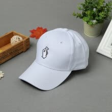 -New Fashion Women Men Cap Solid Color Embroidery Pattern Snap Flat Baseball Hip-Pop Cap White/Pink/Black on JD